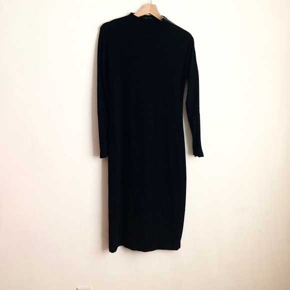 Donna Karan Dresses & Skirts - Donna Karan dress black long sleeve sz:S wool